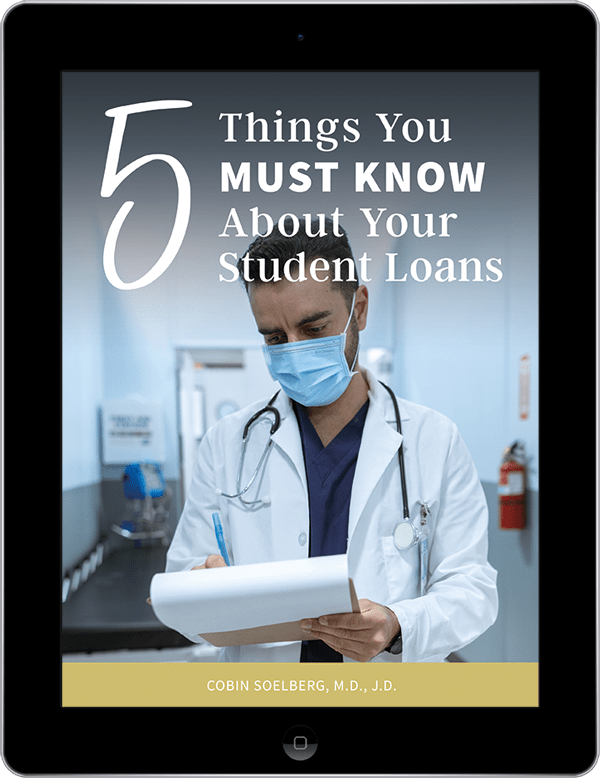 ipad showing freebie 5 Things You Must Know About Your Student Loans